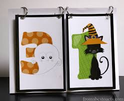 Crafts For Kids For Halloween - printable halloween countdown for kids from abcs to acts