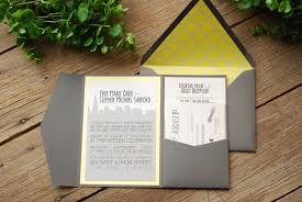 wedding pocket invitations impressive wedding invitations chicago theruntime com
