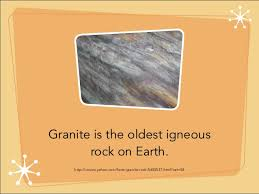 facts about granite