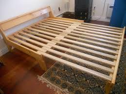 futon with wood frame best 25 queen futon frame ideas on pinterest