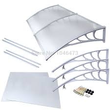 Awning Kits Aliexpress Com Buy Ship From Uk 1mx2m Diy Outdoor Front Door