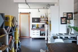 small studio kitchen ideas combined black ceramic tiles floor tree