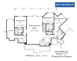 dual master suite house plans surry hill house plan house plans by garrell associates inc