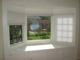 white bow window treatments best bow window treatments ideas