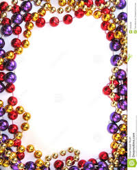 mardi gras frame mardi gras bead border royalty free stock photos image 1633458