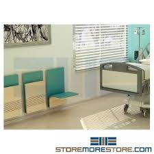 File Cabinet Seat Healthcare Foldaway Wall Chairs Wall Mounted Anti Microbial Anti