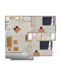Average Square Footage Of A 1 Bedroom Apartment by Student Housing Eugene Oregon Stadium Park