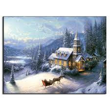 free shipping oil canvas painting design landscape new arrival