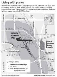 buckley afb map buckley afb fears growth may clip wings the denver post