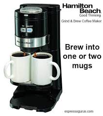 hamilton beach single serve grind and brew coffee maker review