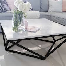 100 italian cararra marble coffee table by meir get the look at