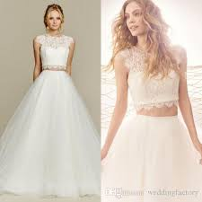 two wedding dress discount stunning 2017 wedding dress country style two