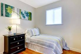 Simple Small Bedroom Clean And Uncluttered R Intended Design - Simple small bedroom designs