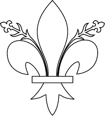 file meuble héraldique fleur de lys florencée svg wikimedia commons