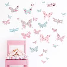 Wall Sticker Australia Children S Butterfly Fabric Wall Stickers By Koko Kids