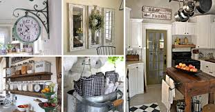 how to decorate a rustic kitchen top 29 diy ideas adding rustic farmhouse feels to kitchen