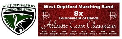 west deptford hs varsity marching band home