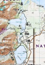 Us National Parks Map Trail Map Of Grand Teton National Park Wyoming 202