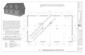 Cape Cod Garage Plans by G445 Plans 48 U0027 X 28 U0027 X 10 U0027 Cape Cod Garage Plans Blueprints With
