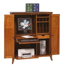 Computer Armoire Corner Computer Armoire Accommodate Your Need Of Computer Table And