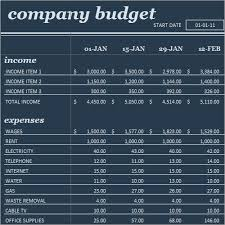 Business Expenses Excel Template Budget Template 9 Free Documents In Word Excel Pdf
