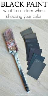 best black paint colors at home with the barkers