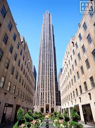 view of rockefeller center i photo by andrew prokos