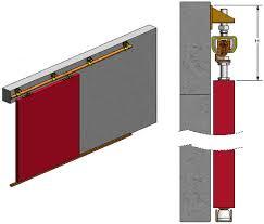 Exterior Sliding Door Track Systems Barn Door Track System Barn Door Track System Ebay 6 66ft Bypass