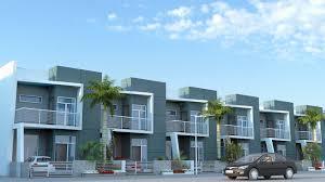 Row House Model - residential duplex 3d designing freelancers 3d