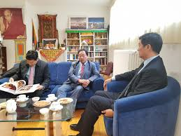 tibetan bureau office sikyong dr lobsang sangay in bern and geneva