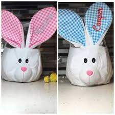 blank easter baskets wholesale burlap easter basket satin bunny ears easter egg hunt