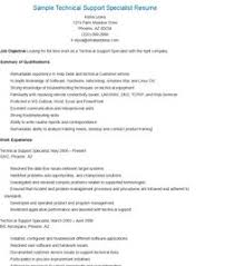 Technical Support Specialist Resume Sample by Sample Student Support Specialist Resume Resame Pinterest
