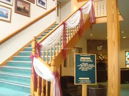 Stairs Decorations by Staircase Drape Decor Google Search The