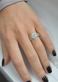 cubic zirconia halo engagement rings best 25 cubic zirconia engagement rings ideas on