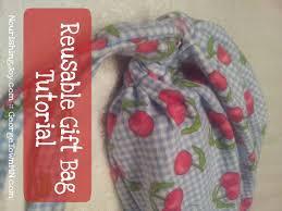 how to make reusable gift bags nourishing joy