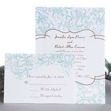 Cheap Wedding Invitations Online Vintage Elegance Of Blue Wedding Invites Uki152 Uki152 0 00