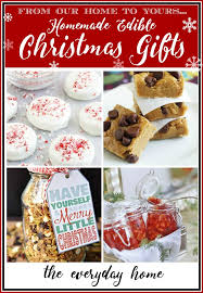 Edible Gifts Homemade Edible Gifts For Christmas The Everyday Home