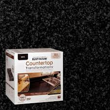 Onyx Countertops Cost Rust Oleum Transformations 70 Oz Onyx Large Countertop Kit 258284