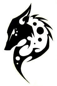 best hd fox demon tattoo designs tribal vector drawing free