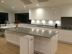 White Gloss Kitchen Ideas Vivo White Gloss Kitchen Better Kitchens Joe U0027s New Kitchen