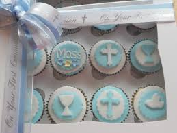 christening first holy communion confirmation cupcakes