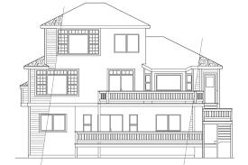 acadian floor plans lot narrow plan house designs craftsman plans