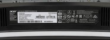 si e v o pour b ocn labs acer xr382cqk bmijqphuzx 38 freesync monitor overclock