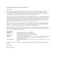 dinner invitation letter cimvitation