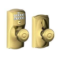 Interior Keyless Door Locks Interior Keyless Door Locks Combination Front Door Lock Bright