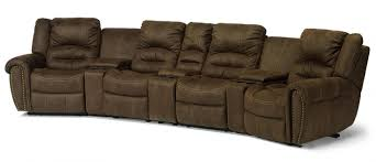 Curved Sectional Recliner Sofas Charming Flexsteel Curved Sofa 3 Flexsteel Latitudes New Town