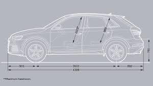 audi q3 wheelbase dimensions audi india