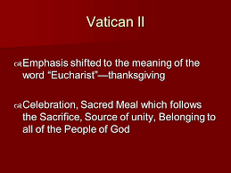 the eucharist ppt