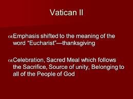 the eucharist ppt