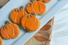 Halloween Pumpkin Sugar Cookies - making it milk free pumpkin spice sugar cookies gluten free vegan